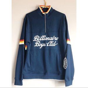 Billionaire Boys Club Large NWT Half zip pullover